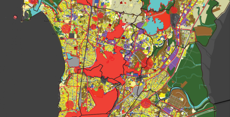 Landuse Map of Mumbai, Akshay Kore