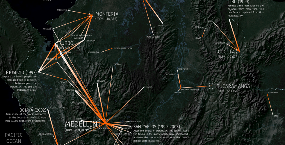 Conflict Urbanism: Colombia, Center for Spatial Research